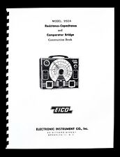 EICO Model 950A Resistance-Capacitance Compactor Bridge Construction Manual
