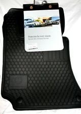 2014 Mercedes Benz E350 SEDAN/WAGON Genuine OEM Factory Rubber Floor Mats -BLACK