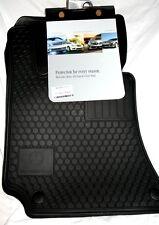 2011 Mercedes Benz E350 SEDAN/WAGON Genuine OEM Factory Rubber Floor Mats -BLACK