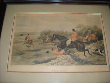 BULLOW PLANTATION  FULL CRY SIGNED ORIGINAL   S.WILLIAMS  E.G.HESTER  #8593