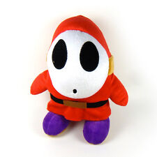 "10"" Shy Guy Soft Plush Doll Figure Stuffed Toy Nintendo New Super Mario Bros"