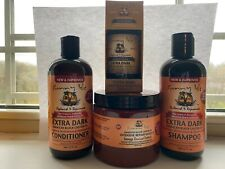 Sunny Isle Extra dark Jamaica Castor Oil 4pcs Shampoo, Conditioner, Masque & Oil