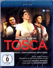 Blu-Ray PUCCINI TOSCA Angela GHEORGHIU Jonas KAUFMANN TERFEL Antonio PAPPANO Neu