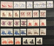 US Stamps Transportation Series