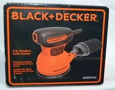 RANDOM ORBITAL SANDER Black and Decker Electric Sanding Compact Hand Tool 5 In.