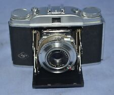 VINTAGE ANTIQUE AGFA GERMANY SOLINETTE II FOLDING CAMERA CIRCA 1952