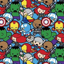 """30""""  Marvel Kawaii """"All in the Pack""""  Fabric"""