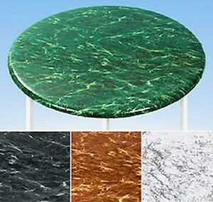 Elasticized Tablecloths Table Cover Marble Wood MAPLE Fitted Cover Fabric Back