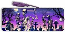 3D Bookmark - Skeletons Moonlight Boogie
