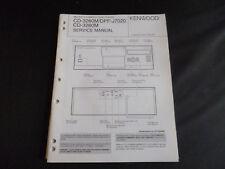 Original Service Manual Kenwood CD-3260M/DPF-J7020 CD-3280M