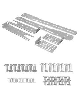 NEW, Rackmount Kit for Cisco 3750-X 3560-X, All screws 4 rails, C3KX-4PT-KIT