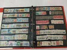 Worldwide Dealer Stamp Stock Album With 1,040 Stamps + Bonus Material/Nice!