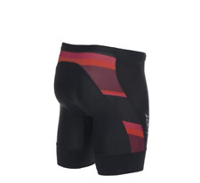 Zoot - Men's Performance Tri 7 inch short - Black/Race Day Red Stripe - Xl