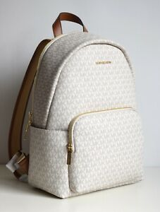 MICHAEL KORS Damen Tasche Bag ERIN LG BACKPACK Rucksack vanilla Laptopfach