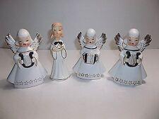 Vintage Porcelain CHRISTMAS CAROLERS Set Of 4 Japan