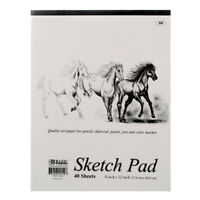 40 sheets SKETCH PAD 9x12 Sketchbook Premium Quality Drawing Art Paper Book