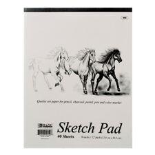 40 sheets SKETCH PAD 9x12 Sketchbook Premium Quality Drawing Art Paper Book