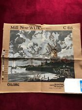 Coats Anchor Tapestry Canvas- Mill Near WIJK C615 Unused