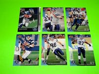 6 TORONTO ARGONAUTS UPPER DECK CFL FOOTBALL CARDS 27 78 81 82 88 142 #-2
