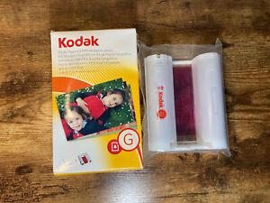 KODAK G200 Color Cartridge Photo Paper Kit for G600 G610 Printers - READ