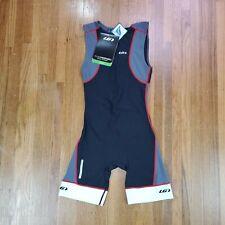 Louis Garneau Pro Triathlon Suit Mens Sz Medium Power Mesh Cycling Running NEW