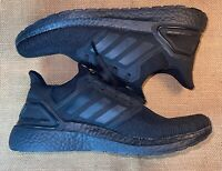 * Adidas Ultraboost 20 Triple Black Sneakers Shoes * Size Mens US 10.5 * NEW *
