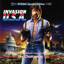 INVASION U.S.A. cd sealed intrada OOP