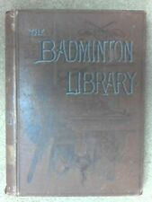The Badminton Library: Swimming by Sinclair & Henry hardback Longmans 1893 GOOD