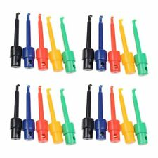 Kit de cable 20PCS Gancho Clip Grabbers sonda de prueba para multímetro, Arduino, Smt/S V4R1