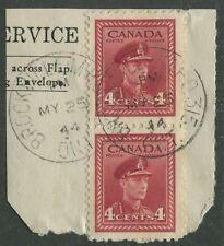 "CANADIAN MILITARY POST OFFICE CANCEL ""BROCKVILLE ONT. - M.P.O. 315"""