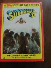 1980 Topps SUPERMAN II Trading Complete Card Set 1-88
