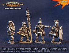 Baueda - Legionary foot Command (8 foot) - 15mm
