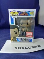 Funko POP Marvel Collector Corps Nick Fury With Goose The Cat #447 w/ Protector