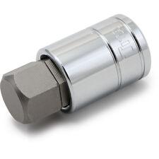 """Titan Tools 15621 Hex Bit Socket 1/2"""" Drive 21mm Chrome"""