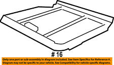 FORD OEM Sunroof Sun Roof-Sunshade Shade Cover 7L2Z78519A02AA
