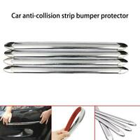 4X/set Car Rubber Door Protector Anti-collision Edge Guard Rub Strips Bumper