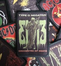 * TYPE O NEGATIVE * patch rock,metal,sew,merch,band,doom,misfits,tool,dead, rust