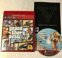 Grand Theft Auto V GTA 5 PS3 Sony PlayStation 3, 2013 Free Shipping