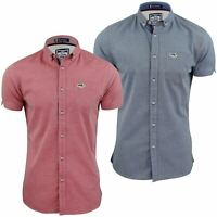 Mens Oxford Shirt by Le Shark 'Brayford' Short Sleeved