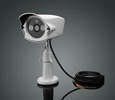 Spinel 2MP Long Range Waterproof Serial JPEG Camera RS232 w/ white light LED