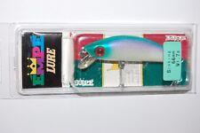 yo zuri empe minnow rare lure 66mm  7g r179-w60 sinking green head back pearl