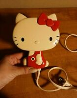 HELLO KITTY Hair Dryer RED Vintage 1976 Rare 800W SANRIO Used Japan F/S