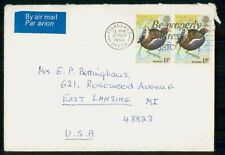 Mayfairstamps Great Britain 1890 Fishguard Moorhen Block Cover wwh_20985