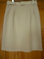AUTHENTIC VINTAGE  BRITISH MADE FULLY LINED MINI SKIRT SIZE 12/14