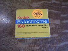 NIB Kodak Ektachrome 160 Sound Color Movie Film Cartridge In Box Unused Expired
