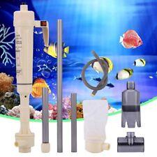 Electric Aquarium Gravel Cleaner Siphon Vacuum Water Pump ForFish Tank Cleaner i