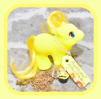 ❤️My Little Pony Phony Fake Fakie Rainbow Newborn Baby Fluorescent Yellow DG❤️
