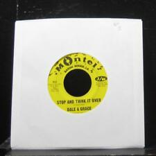"Dale & Grace - Stop And Think It Over / Bad Luck 7"" VG+ 922 Vinyl 45 Montel"