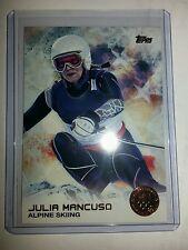 2014 Topps Olympics bronze parallel #59 Julia Mancuso, Alpine Skiing