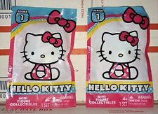 💗 2 Really Rare - HELLO KITTY Collectible Mini Figures Series 1 Blind Bags 💗